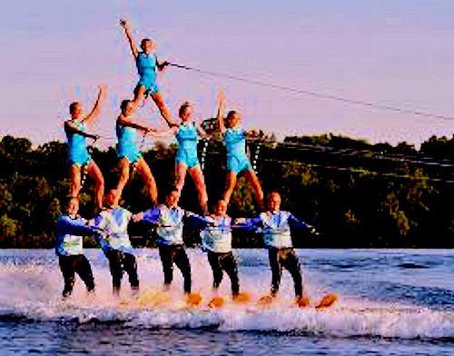 Water Ski Pyramid 1