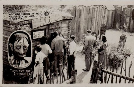 Knott's Jail 1940's
